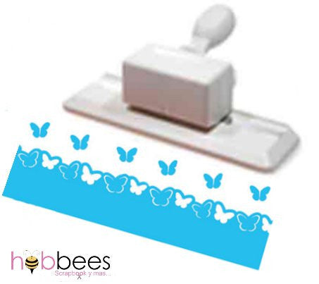 Pop-up Butterflies Edge Punch / Perforadora de Orilla Mariposas que Sobresalen - Hobbees - 1