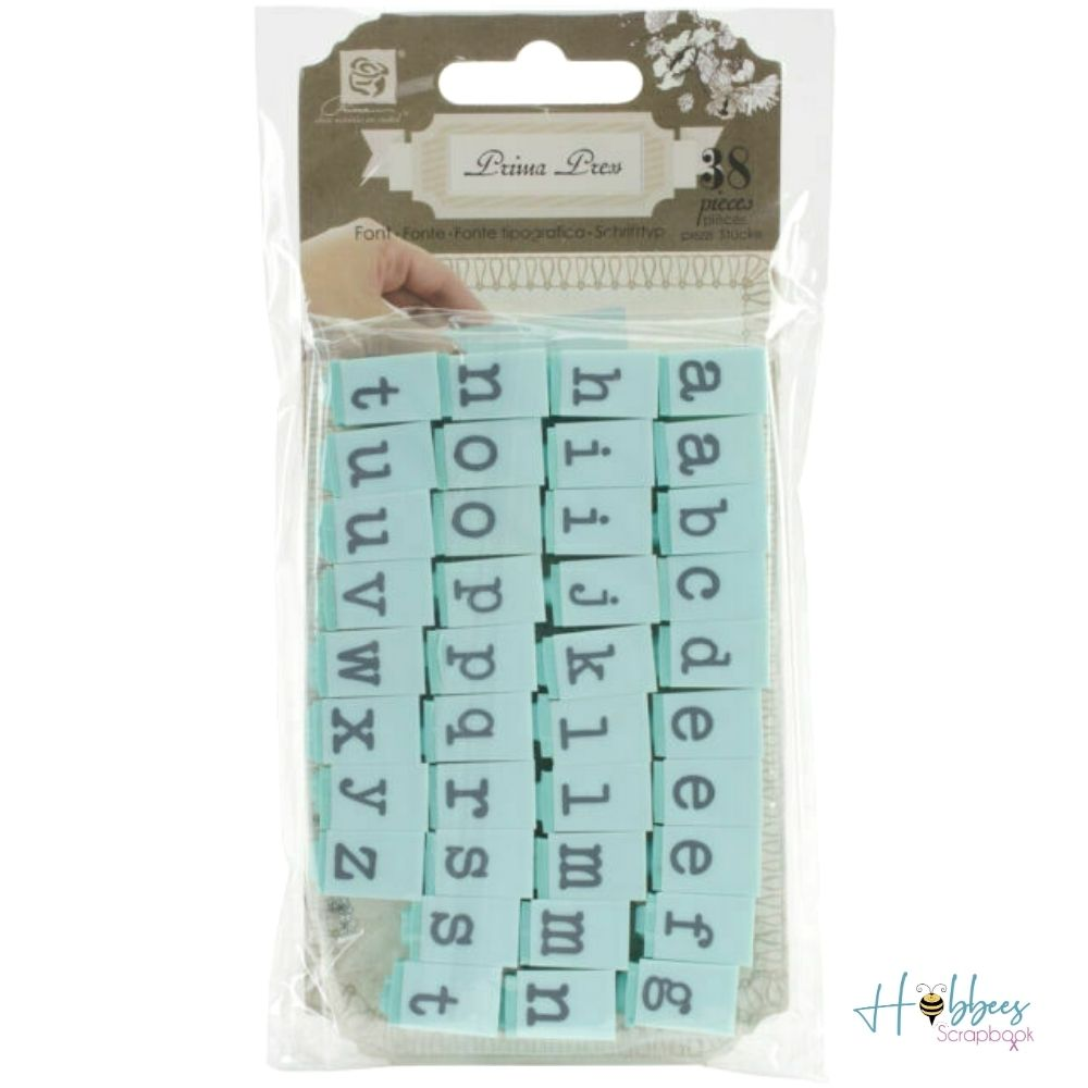 Prima Press Blocks Letters / Bloques de Letras para Sellos #2