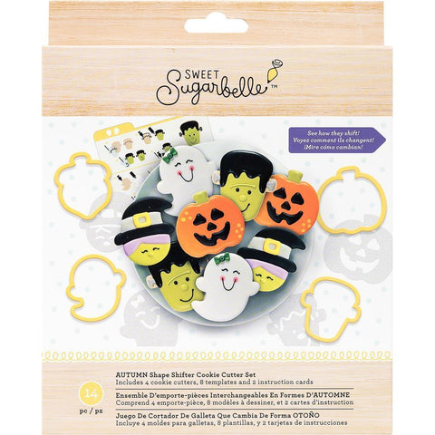 Cookie Cutter Set Autumn / Set de Galletas Otoño