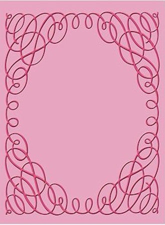 Folder de Grabado / Embossing Folder Scrollwork - Hobbees