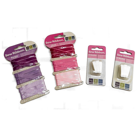 Sew Ribbon Needles & Ribbon Kit / Kit de Repuesto para Herramientas Sew Ribbon