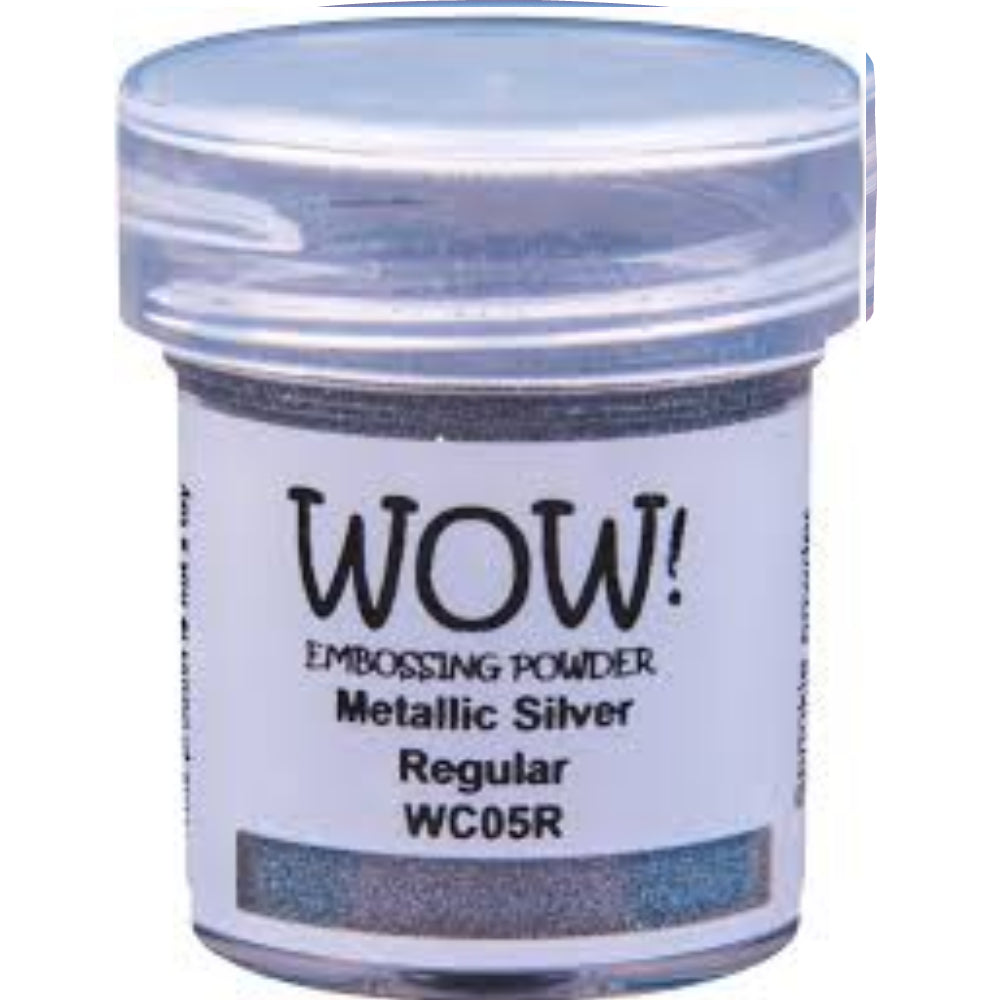 Silver Embossing Powder / Polvo de Embossing Plata