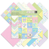 "Block de Papel / Snuggle Pad 12"" x 12"" - Hobbees"