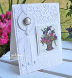 Folder de Grabado / Embossing Folder Textile - Hobbees