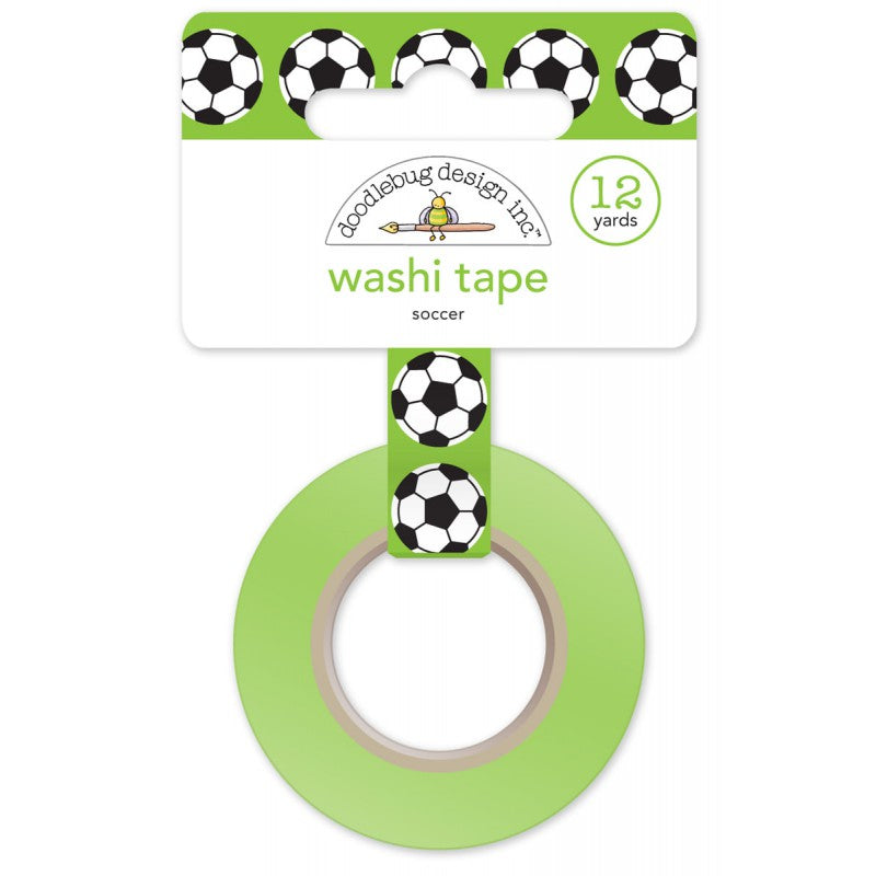 Football Soccer Washi Tape / Cinta Adhesiva de Fútbol - Hobbees