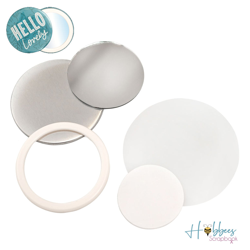 Button Press Mirror Kit / Espejos Tipo Boton Personalizables