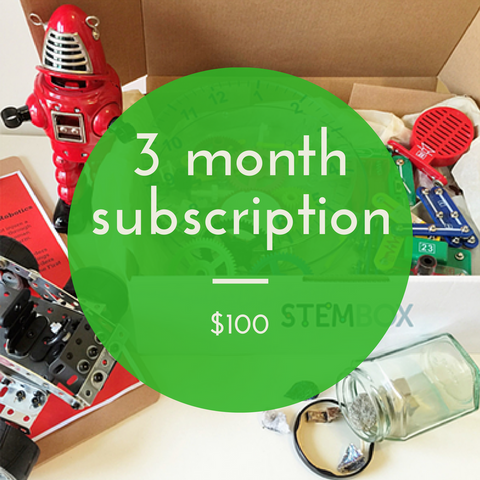 3 MONTH SUBSCRIPTION - STEM Box Australia