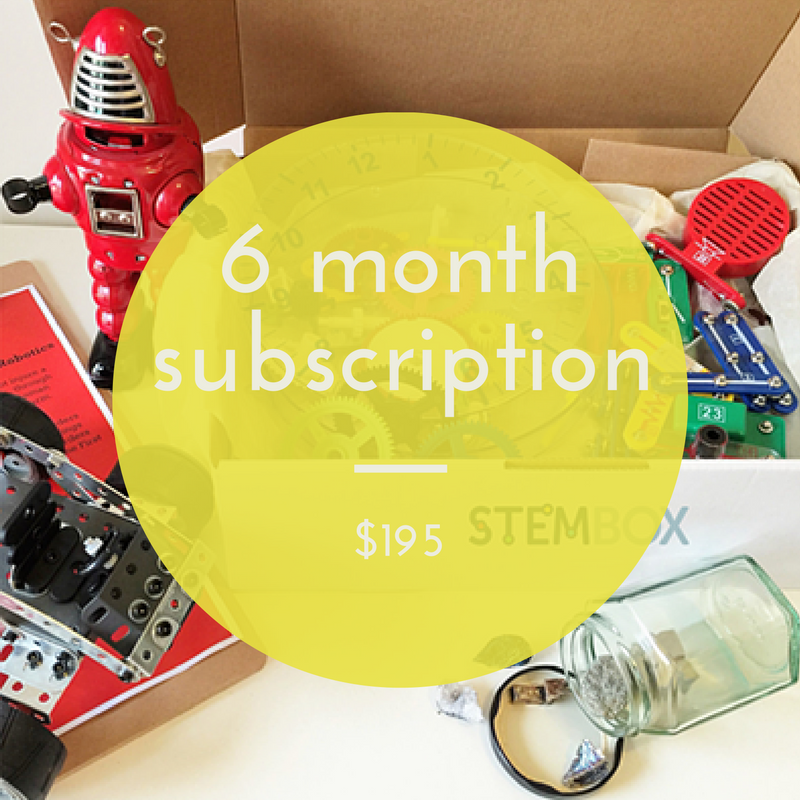 6 MONTH SUBSCRIPTION - STEM Box Australia