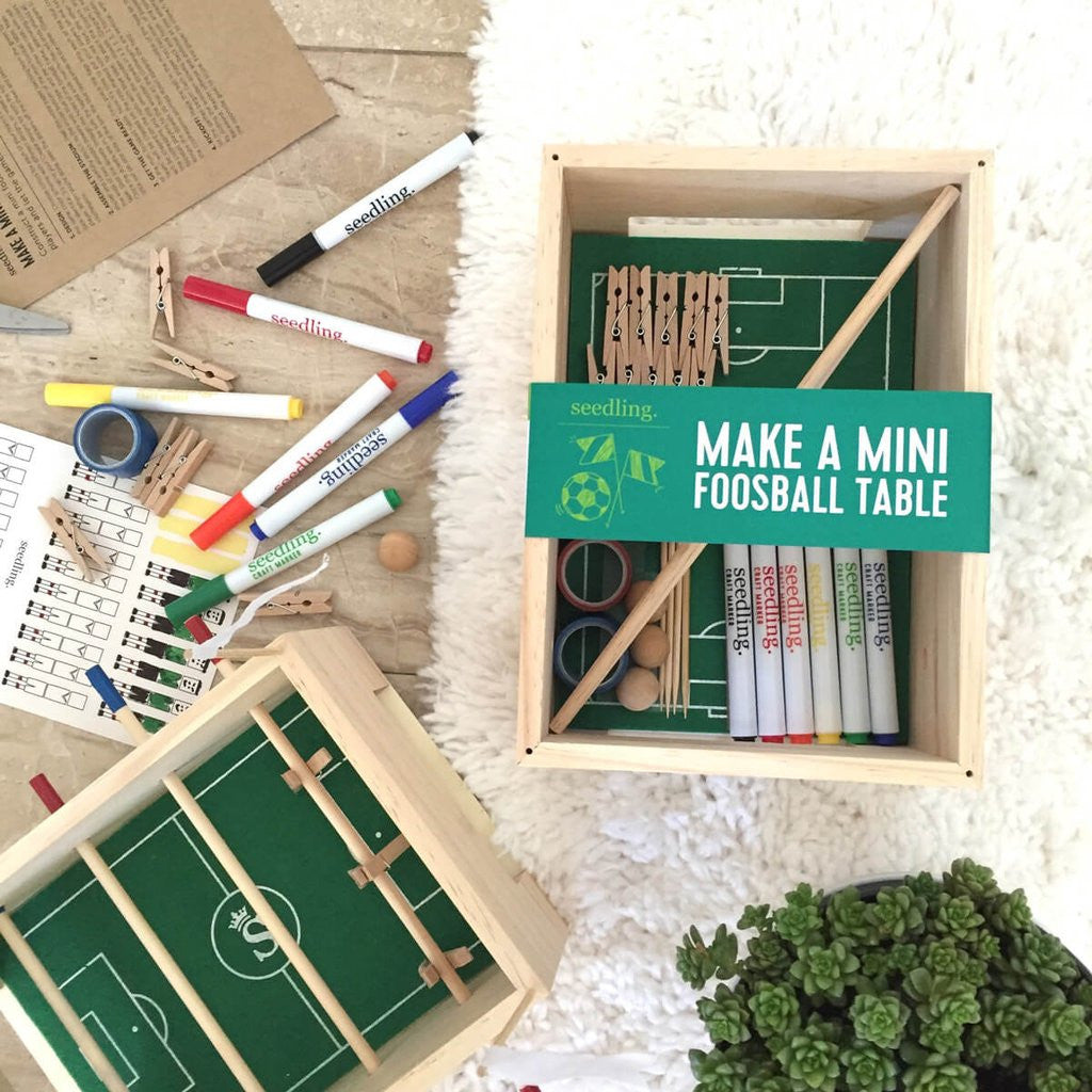 Make a Mini Foosball Table - STEM Box Australia