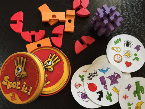 Observational and Problem Solving Games and Puzzle