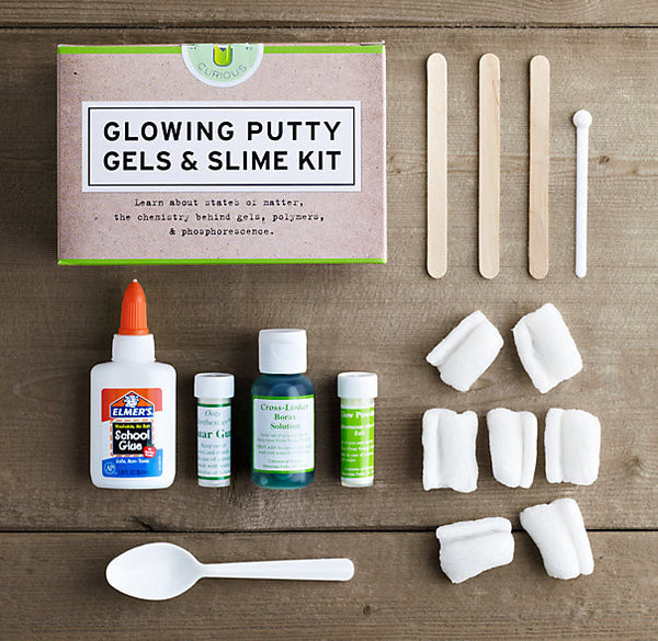 Glowing Putty, Gels & Slime Kit - STEM Box Australia