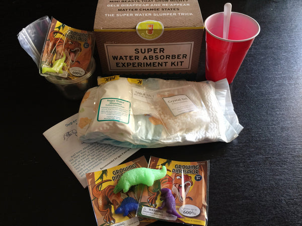 Super Water Absorber Kit - Polymers, Gels and Osmosis - STEM Box Australia