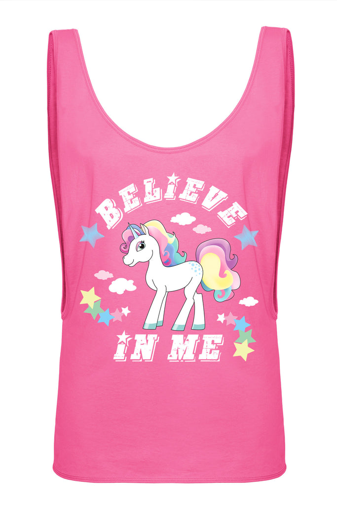 378f96ee8ce43b Pink Unicorn tank top by Full Moony