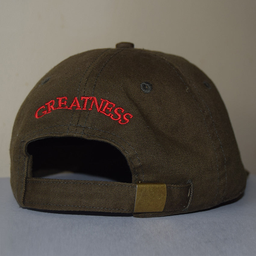 Greatness 1st Cap - Olive Green