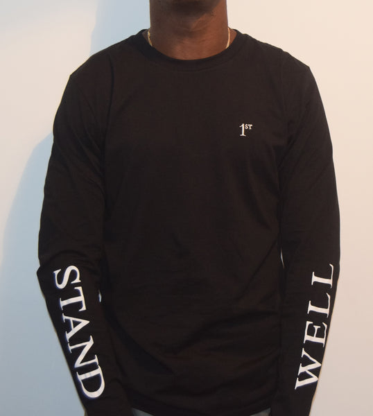 Stand Well / Black Long Sleeve