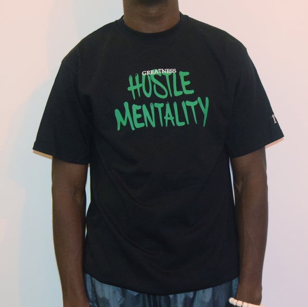 Hustle Mentality / Black T-Shirt
