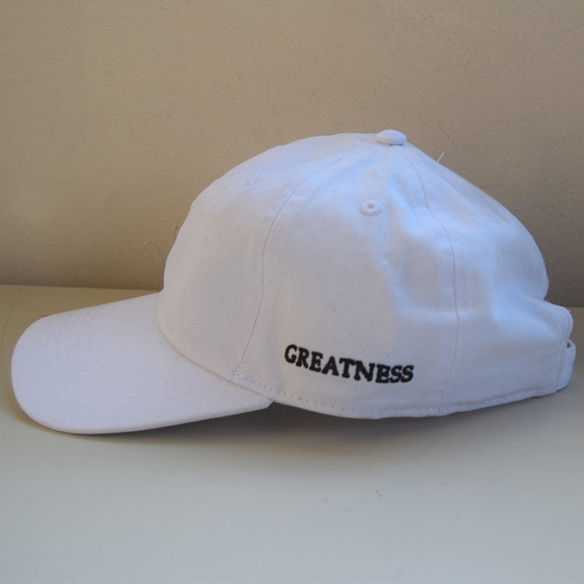 Greatness Cap - White