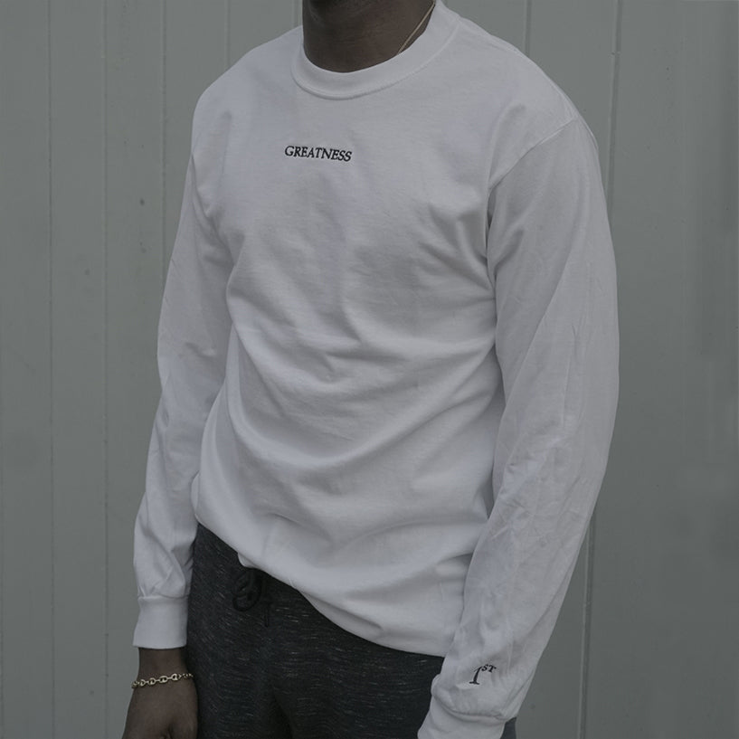Greatness / White Long Sleeve