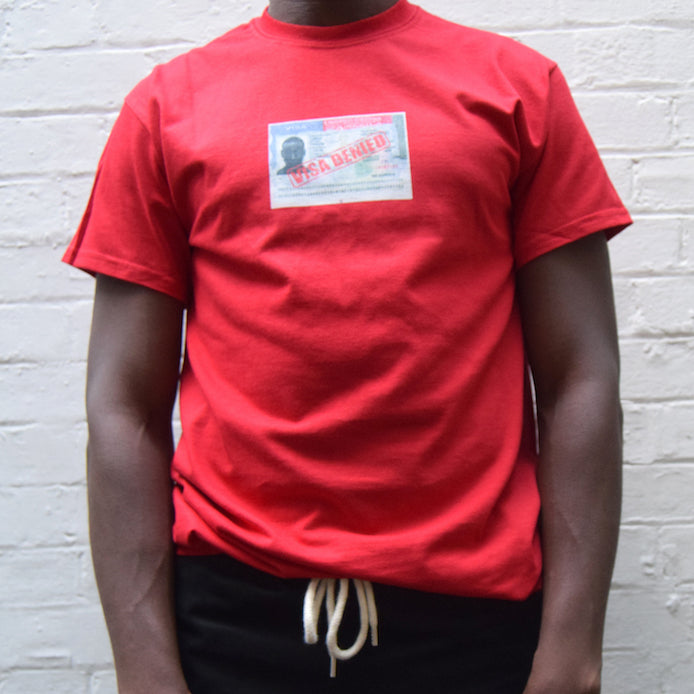 Visa Denied / Red T-Shirt
