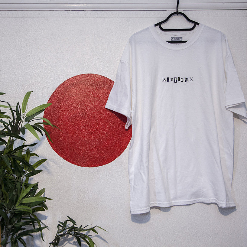 Shutdown / White T-Shirt