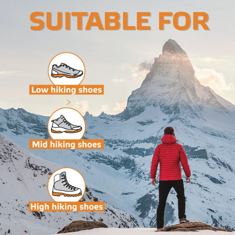 Hiking socks suitable for all types of shoes