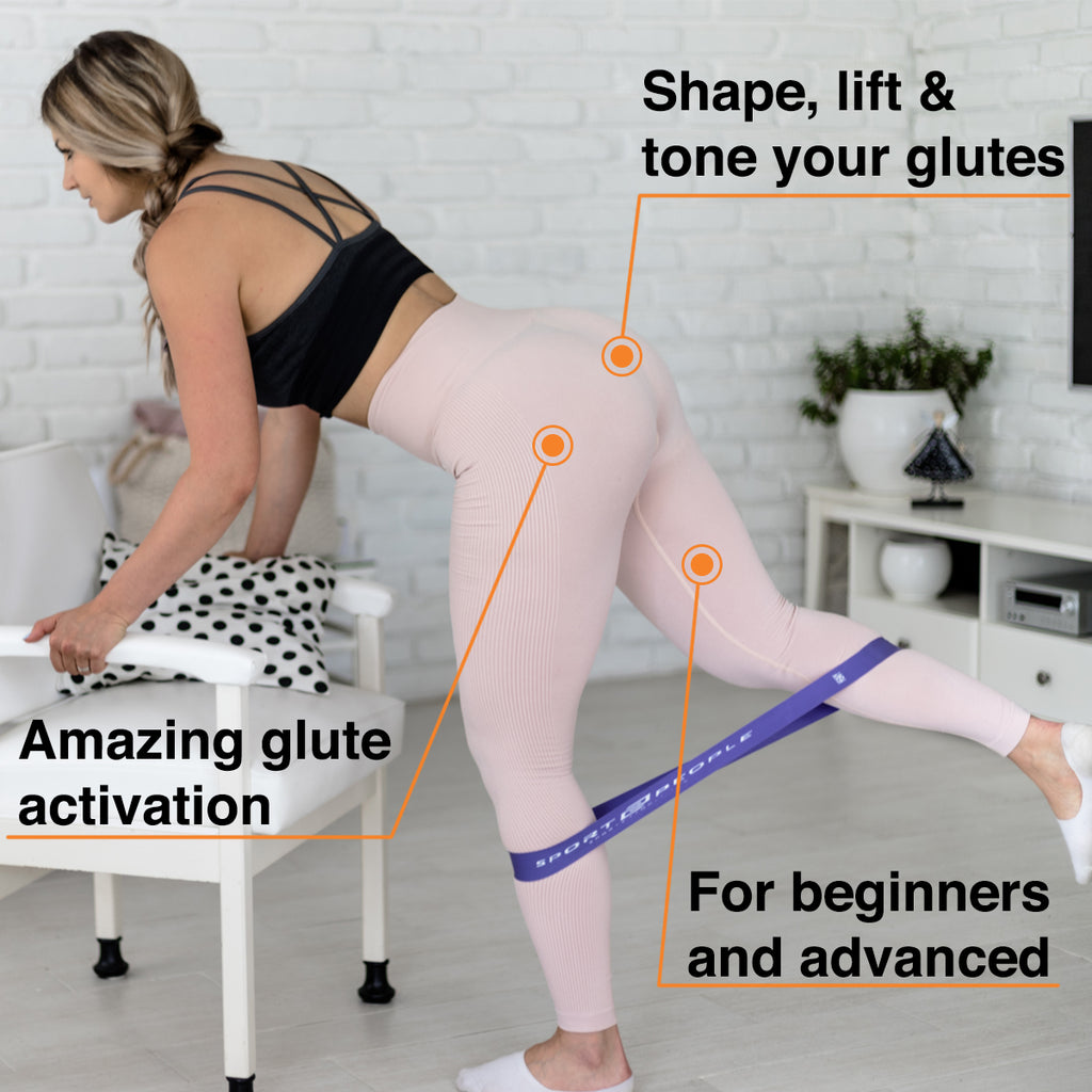 Benefits of using Sport2People resistance bands