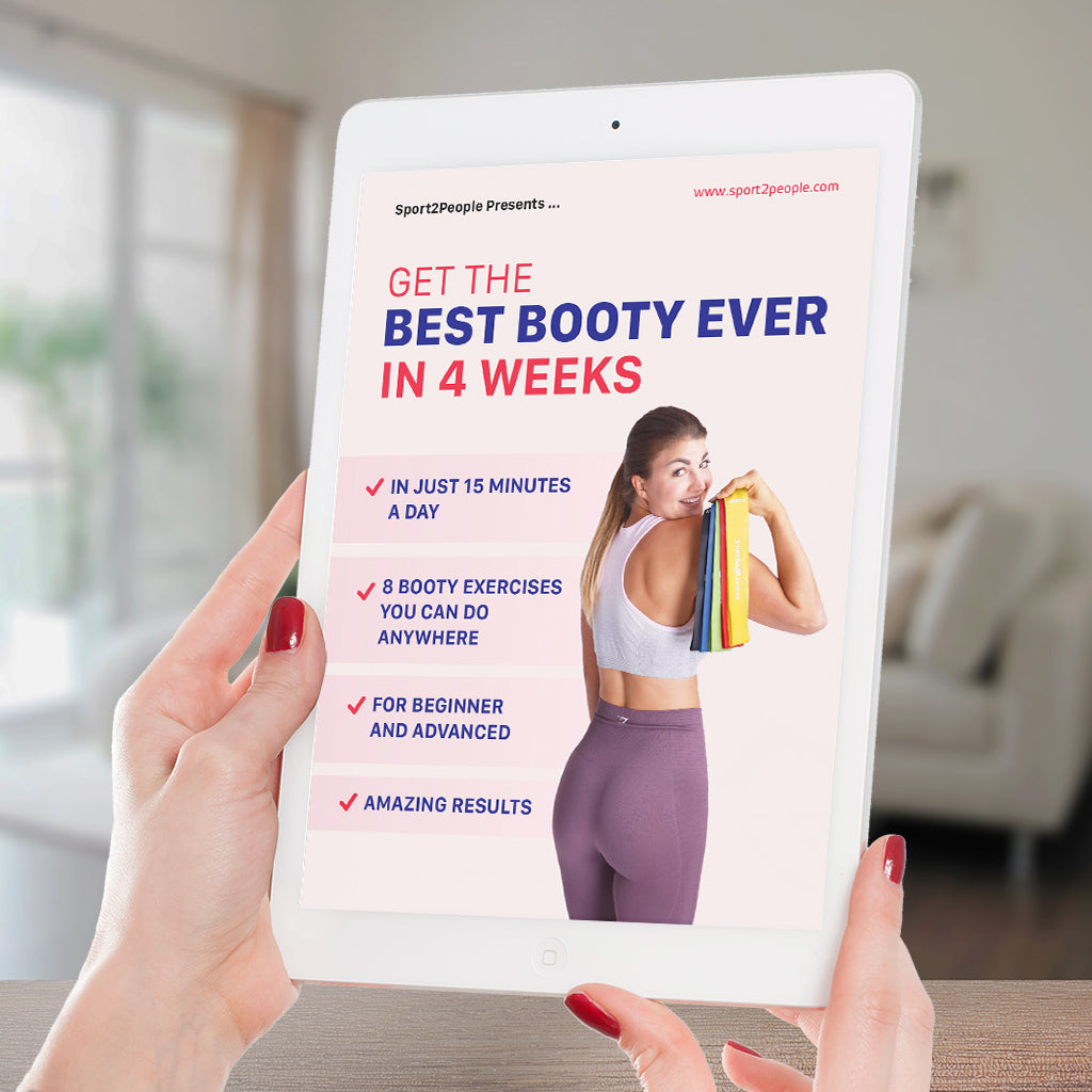 Get the best booty ever in 4 week Sport2People ebook