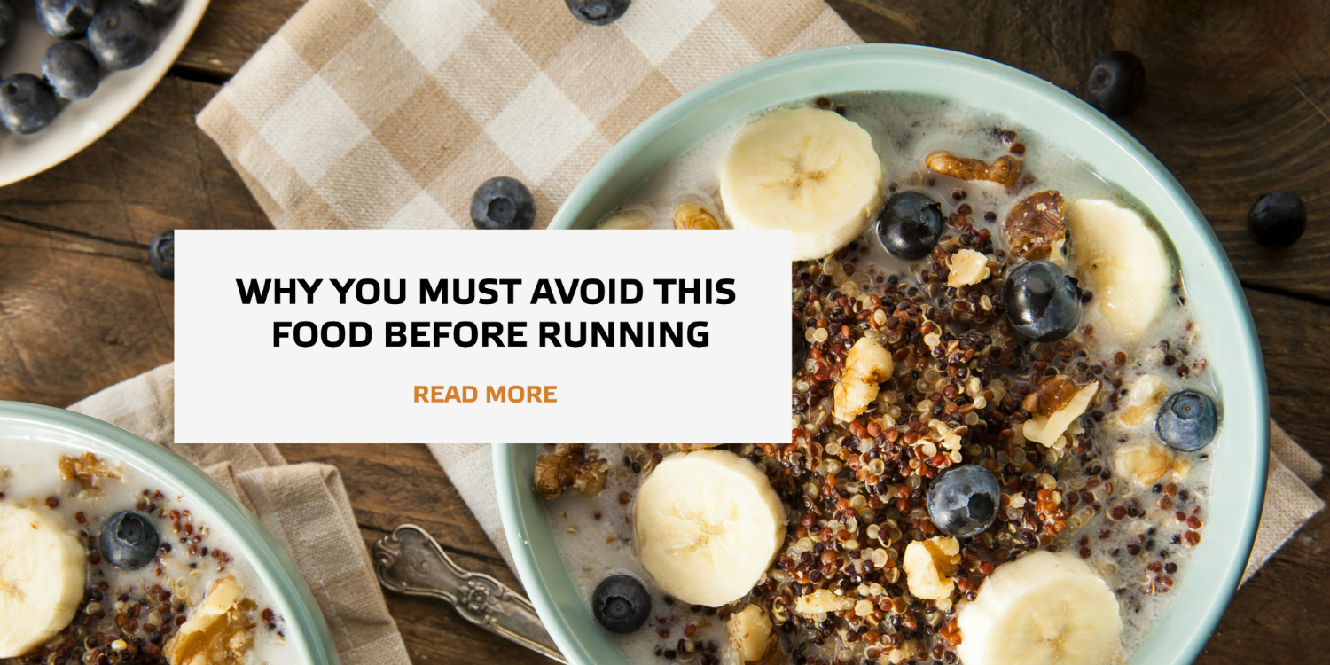 Why you must avoid this food before running