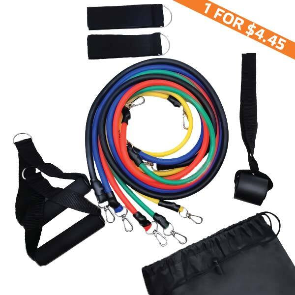 Resistance tubes with handles - Sport2People