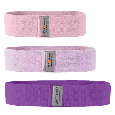 Booty Hip Bands Set of 3 (+ FREE Gift - 4-Week Booty Shaping eBook) - Sport2People