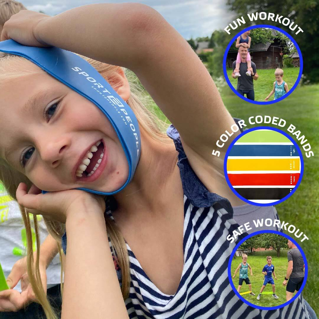 [Today Only: 50% OFF]: 5 Mini Loop bands for Kids - Sport2People