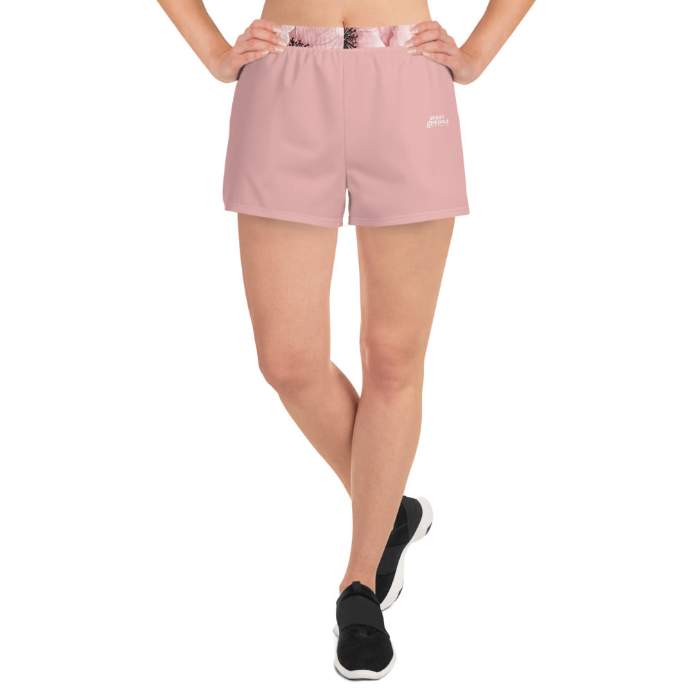 Dark Pink Short Shorts - Sport2People