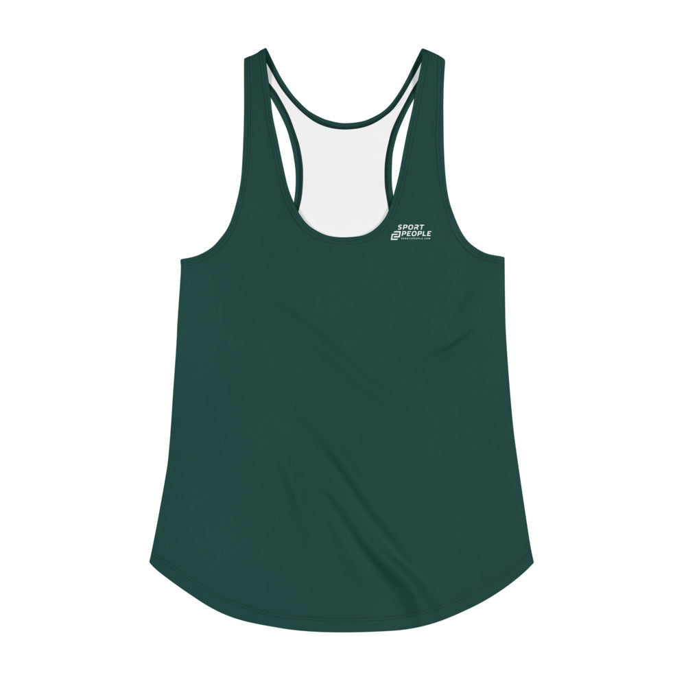 Dark Green Tank Top - Sport2People