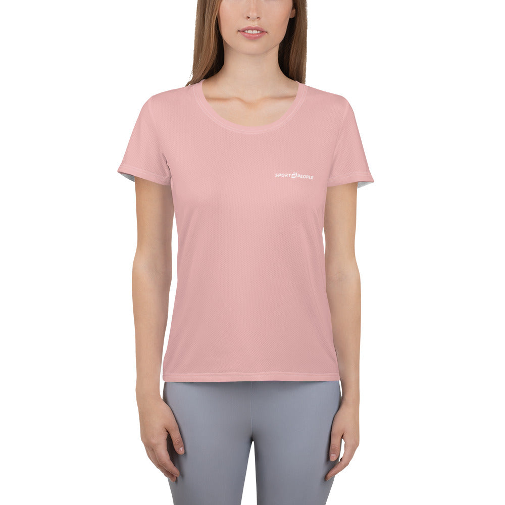 Dark Pink T-Shirt - Sport2People