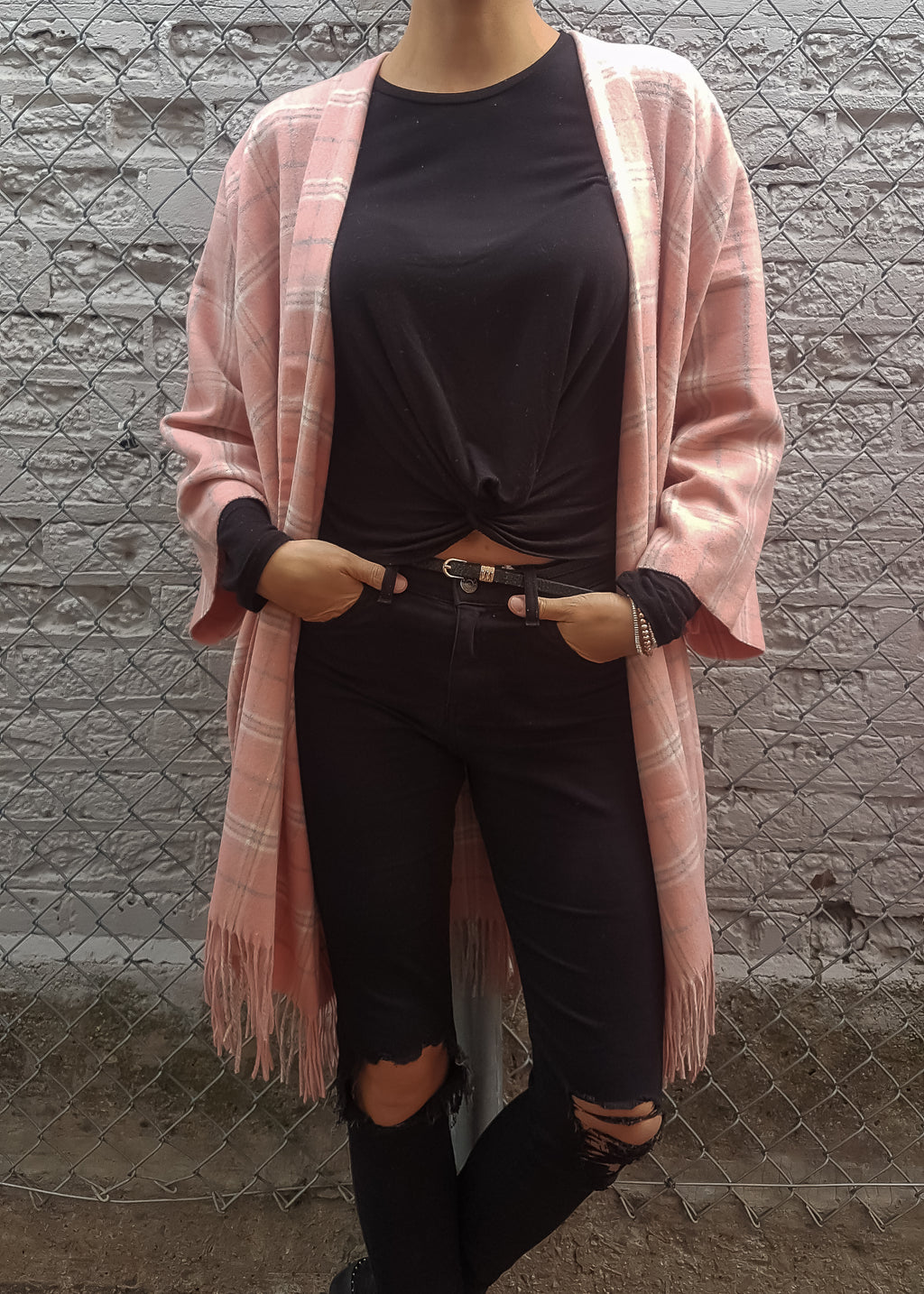 Voyager Boho Jacket in Blush