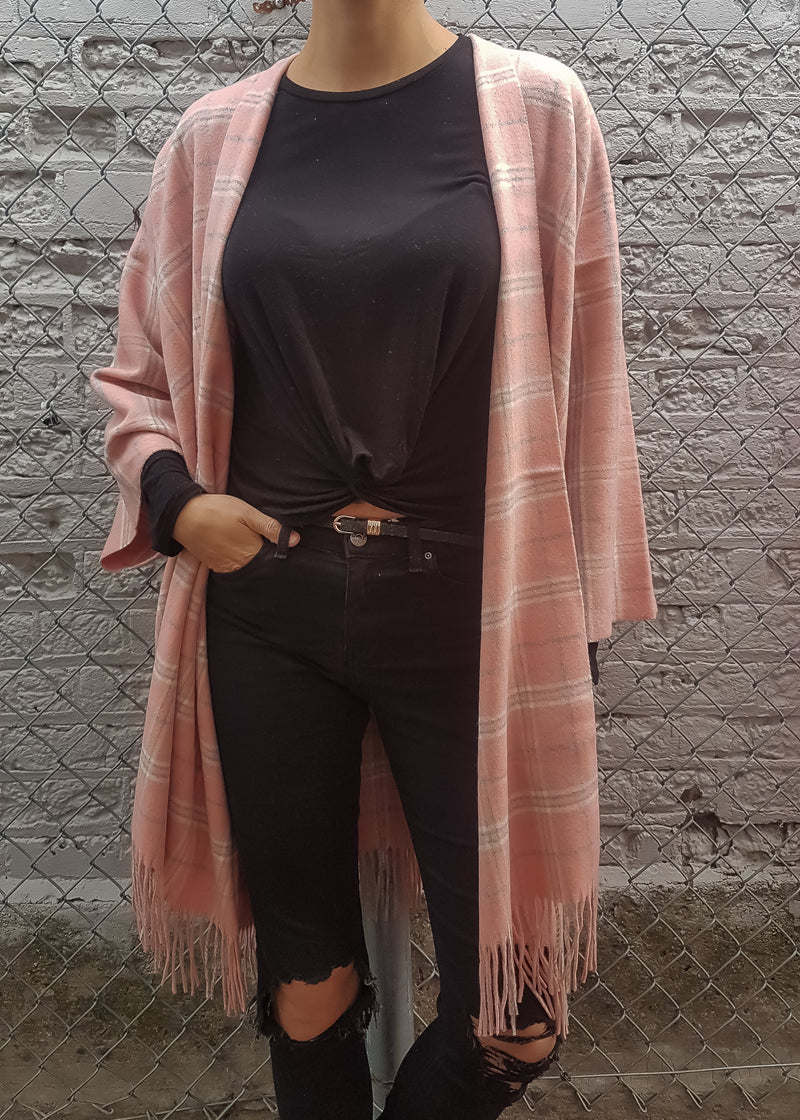 VOYAGER BOHO JACKET - BLUSH
