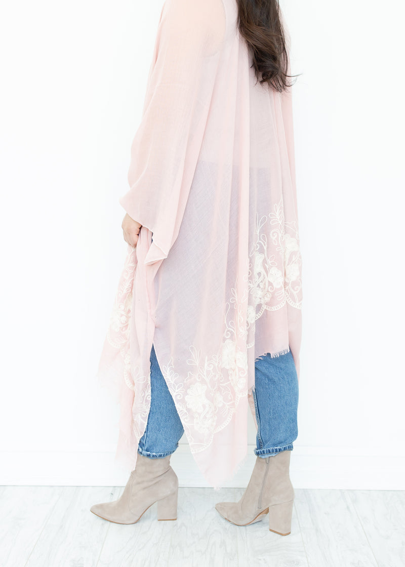 Ever After Kimono in Pink