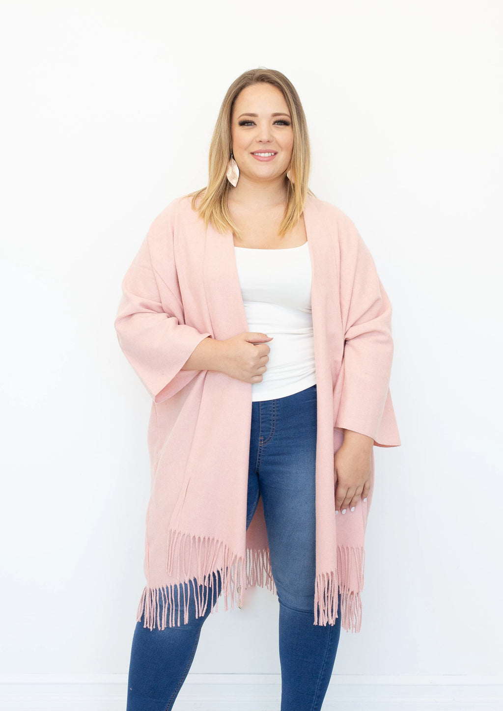 Amour Boho Jacket in Blush