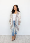 SANTA CLARITA BOHO JACKET - BROWN