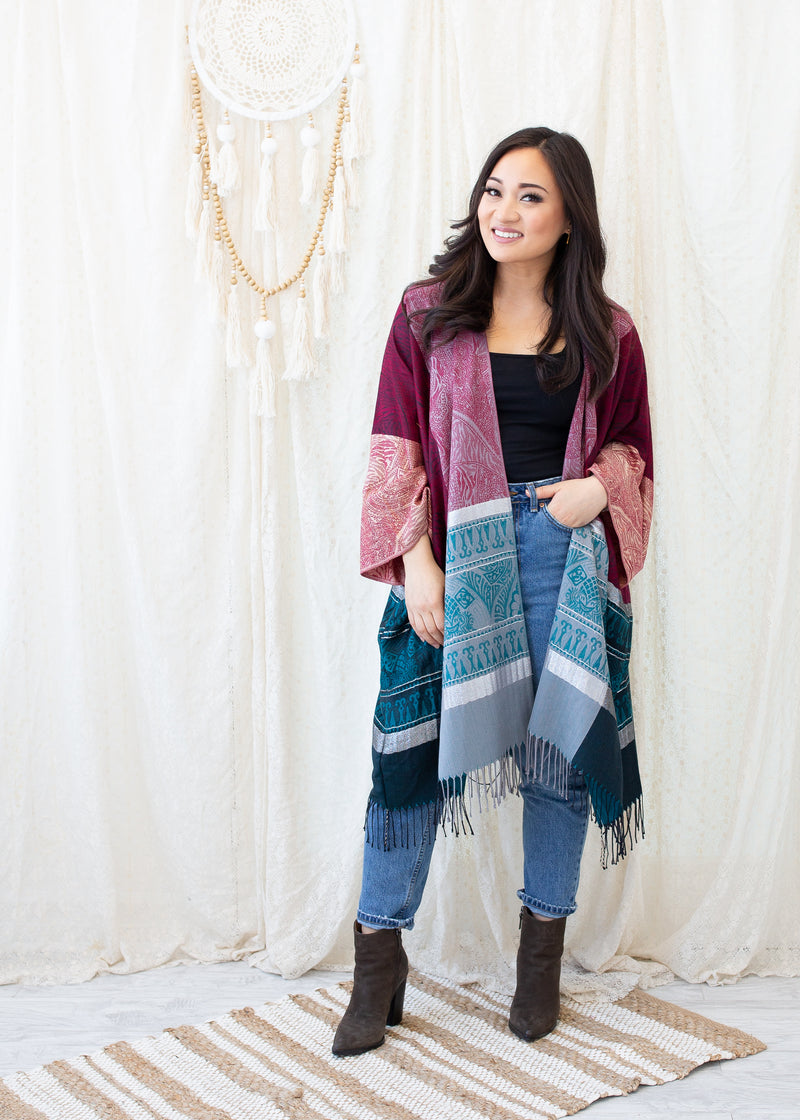 Trinity Boho Jacket in Bold