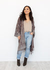 Zion Boho Jacket in Latte