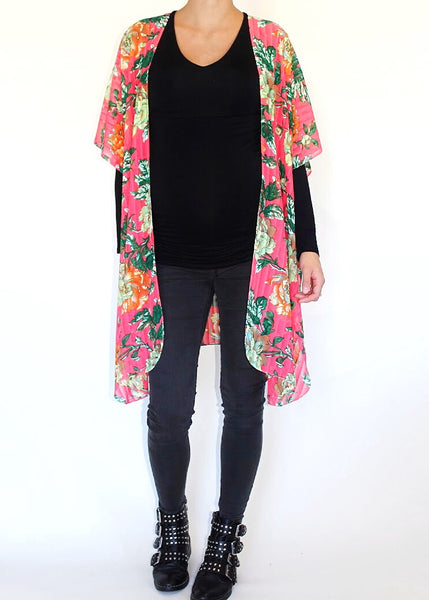 BRIGHT BLOOMS DUSTER
