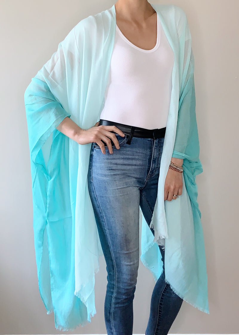Clearwater Kimono in Turquoise