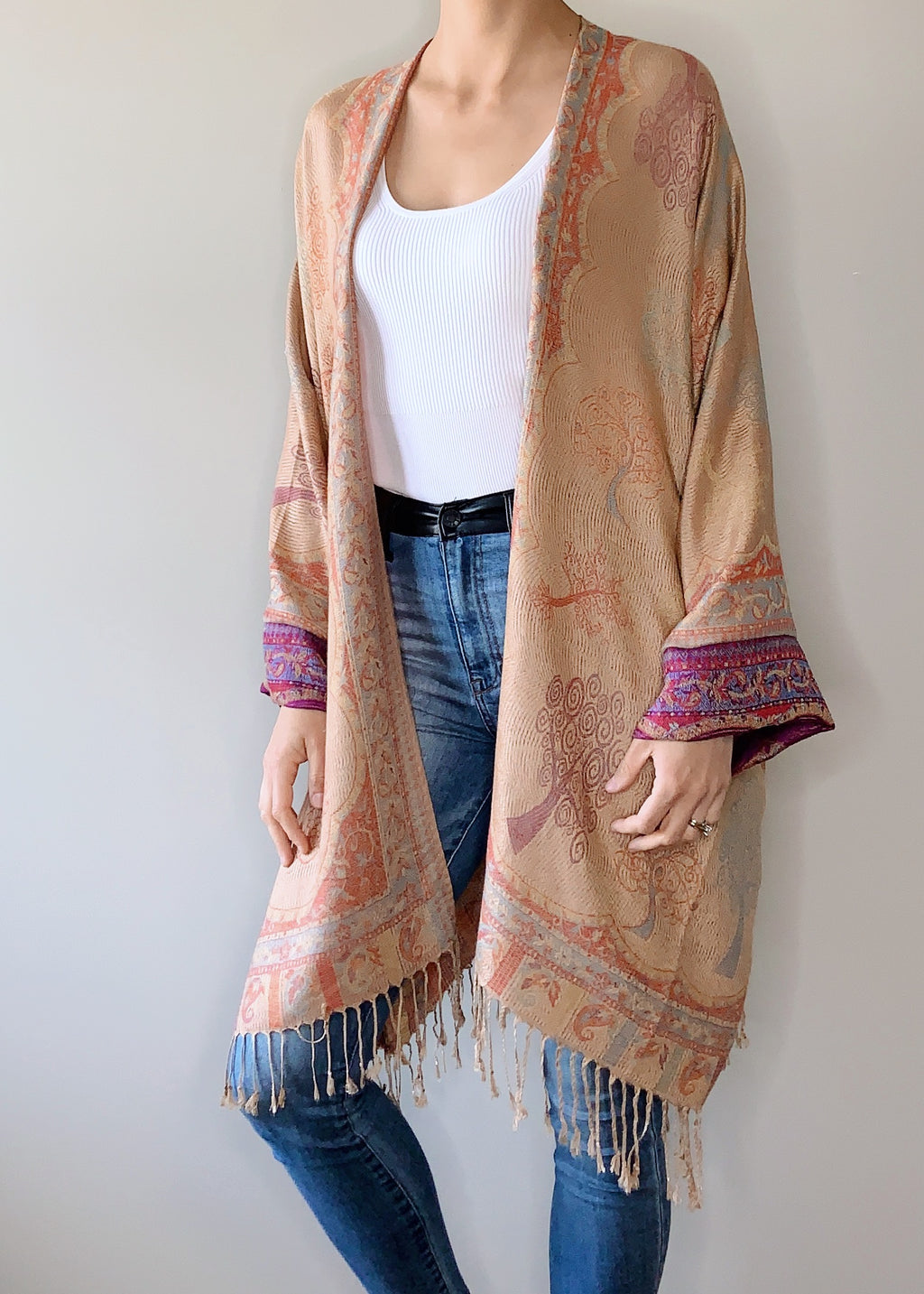 Baobab Boho Jacket with Cuffs
