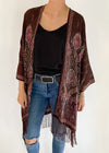 New Age Boho Jacket in Chocolate