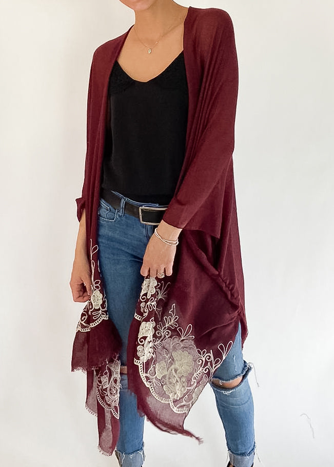 Ever After Kimono in Bordeaux