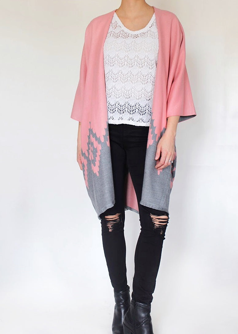 Pisces Boho Jacket in Pink
