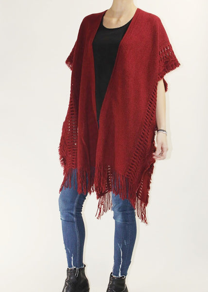 CANDY APPLE WINTER CAPE