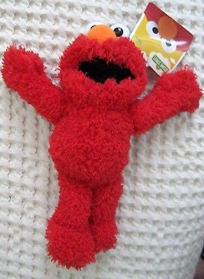 "Sesame Street  7"" Red Plush Elmo-New with tags! 7"" Red Plush Elmo- Plush Elmo"