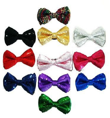 MULTI COLOR RAINBOW WITH STRIPES STRIPED ADJUSTABLE  BOW TIE-NEW GIFT BOX!